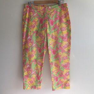 Lilly Pulitzer Capri pants